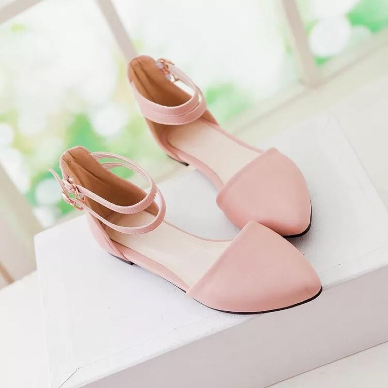 包頭涼鞋女鞋子平跟學生鞋 平底羅馬鞋潮