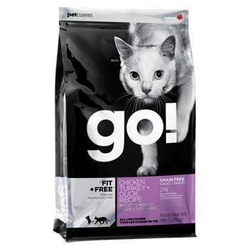 x 派特寵物x 加拿大GO Natural ~80 四種肉無穀全貓糧4 磅8 磅16 磅~