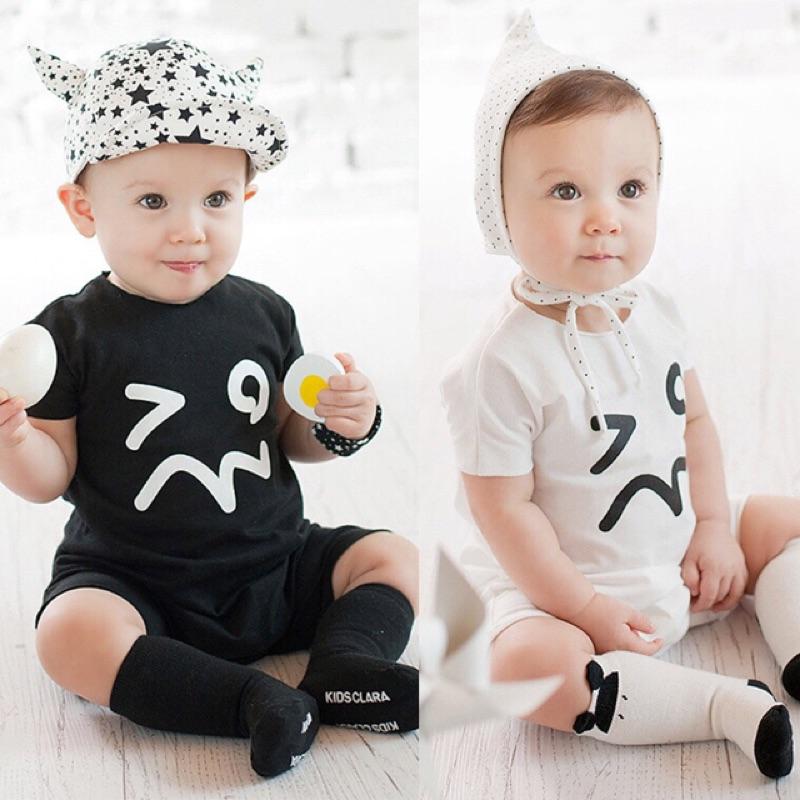 ~季末 ~ Peninsulababy ❤️2016 夏嬰幼兒短袖純棉寶寶連身衣
