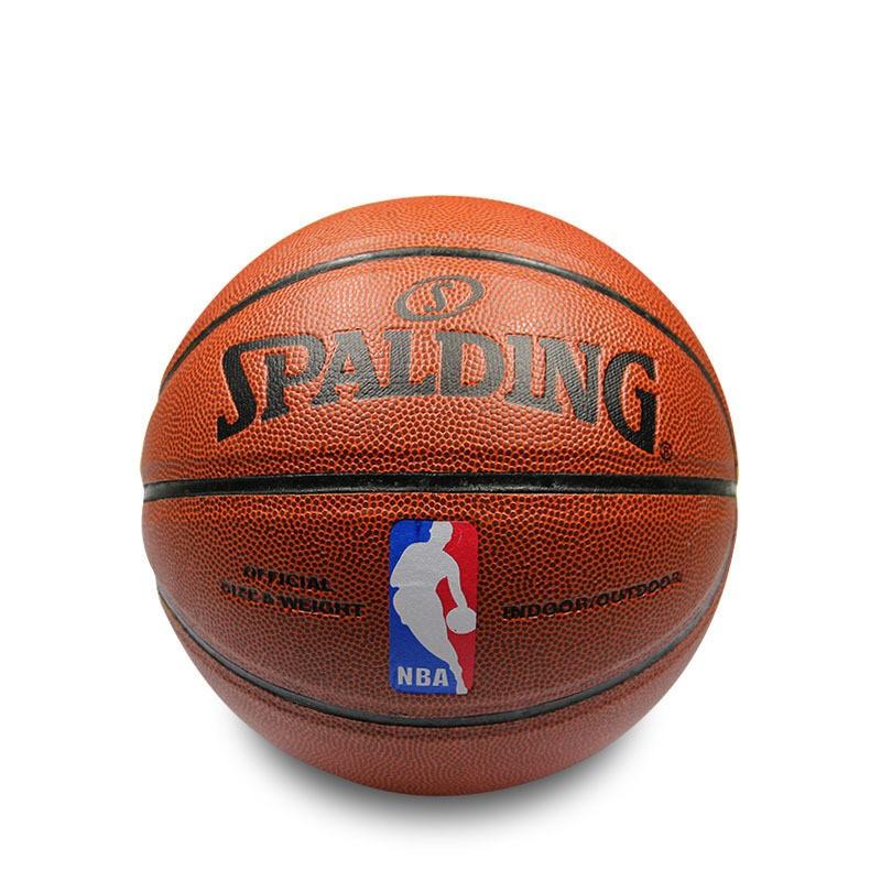 买三个及以上请选择黑猫宅配斯伯丁藍球NBA 室內外耐磨籃球彩色球正人防滑正品