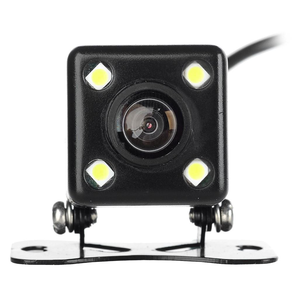 克裡馬 外掛迷你4 燈方塊170 度廣角標清倒車後視車載攝像頭