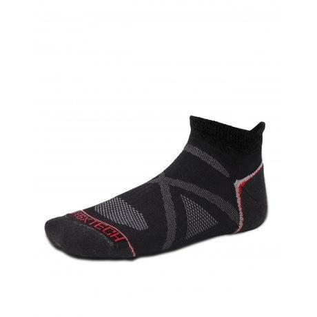衣格EGXTECH ~X 型繃帶~FIX 2 多 足弓保護 機能踝襪慢跑健步單車黑灰M L