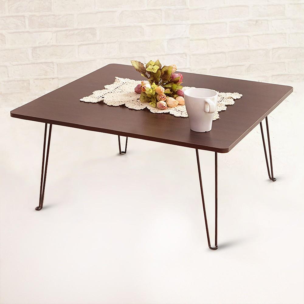 和室桌茶几桌~居家大師~免組裝簡約型小桌子電腦桌露營桌外宿客廳小茶几折疊桌TA053