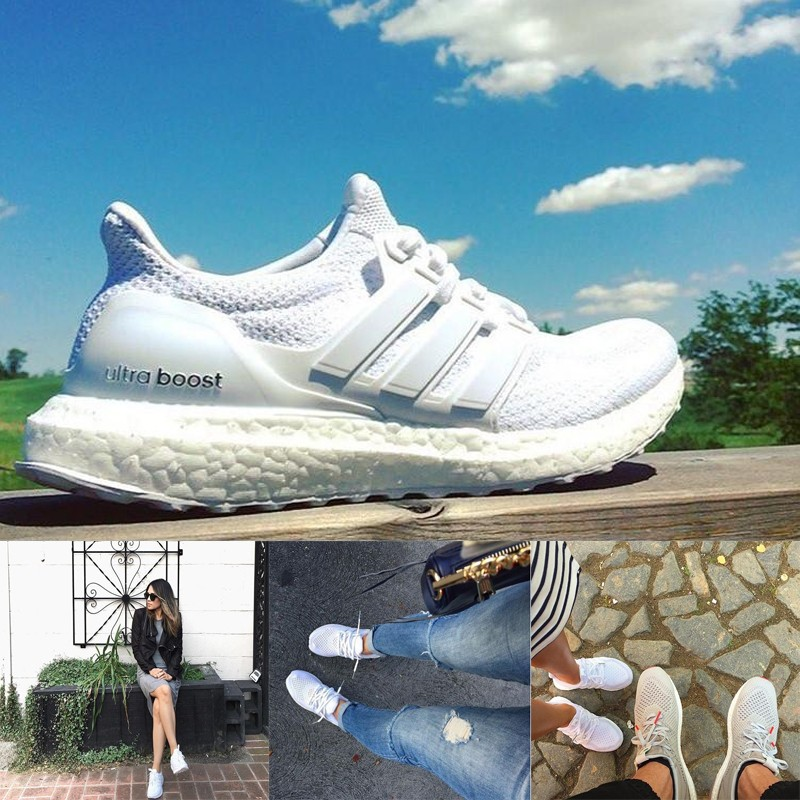 Adidas Ultra Boost 猴年悟空純白黑白彩虹男女情侶慢跑鞋 免郵