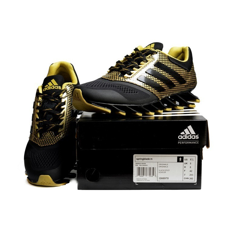 Adidas Springblade Drive 2 0 Shoes 刀锋4 代黑格金40
