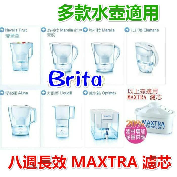 新 八週長效20 濾材增加,德國BRITA MAXTRA 濾水壺濾心濾芯~brita 濾心
