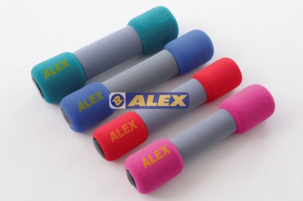 ALEX 3 磅3LB 女生用韻律啞鈴一對入有氧雕塑健身美體