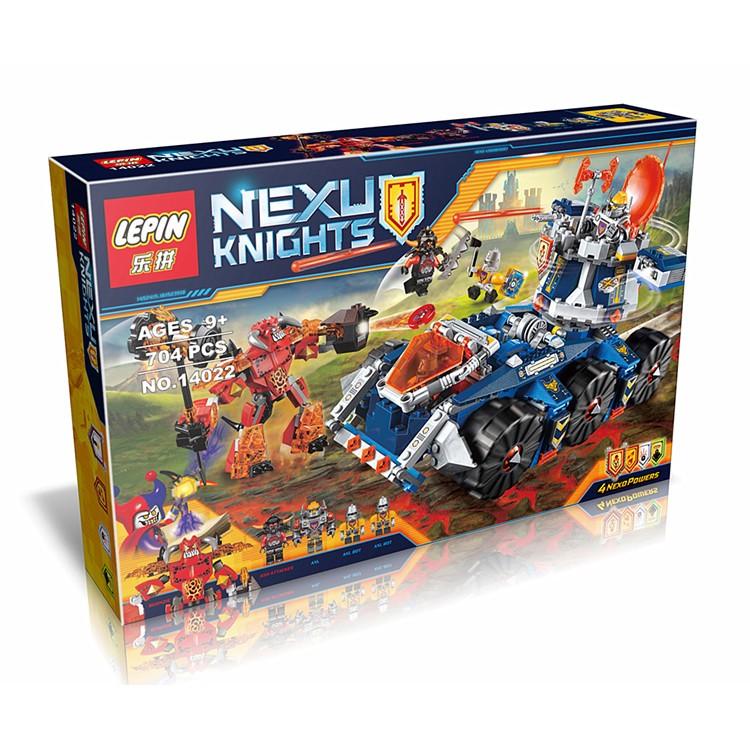 ~夢想家~NEXO 未來騎士樂拼14022 艾克索的塔防戰鬥車兼容LEGO 樂高70322