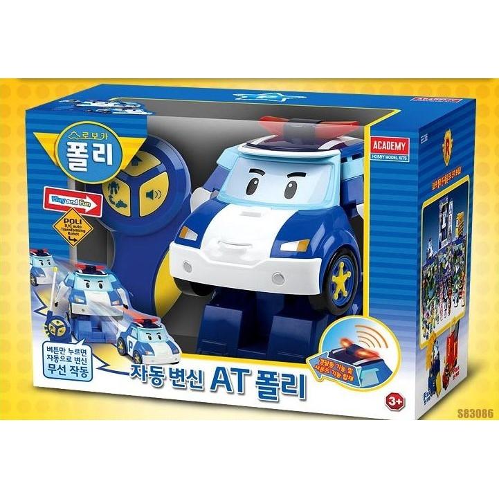 韓寶~~~POLI 波力~ 韓國 救援小英雄聲光效果變身遙控波力機器人AT POLI PO