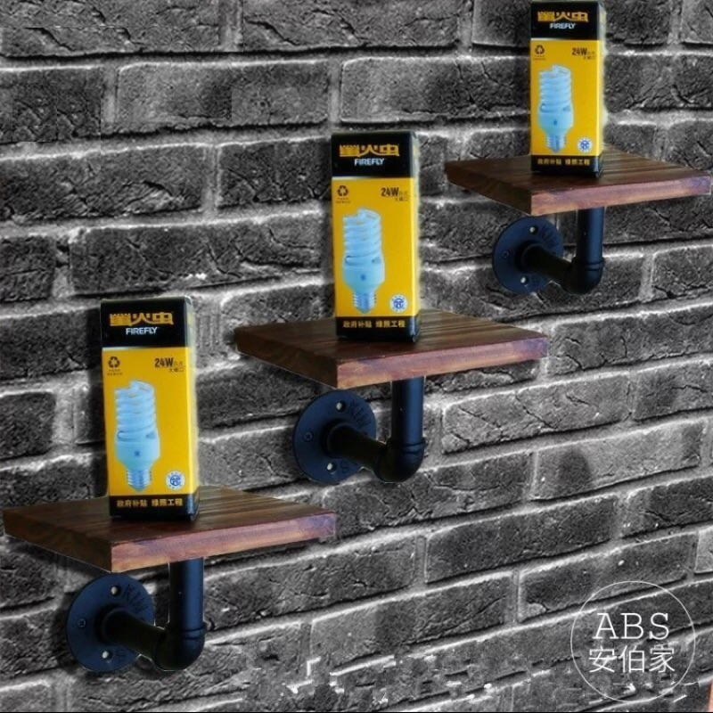 150 ~ABS 安伯家~工業風水管實木木板層架店面傢俱 展示架書架書櫃置物櫃置物架LOF