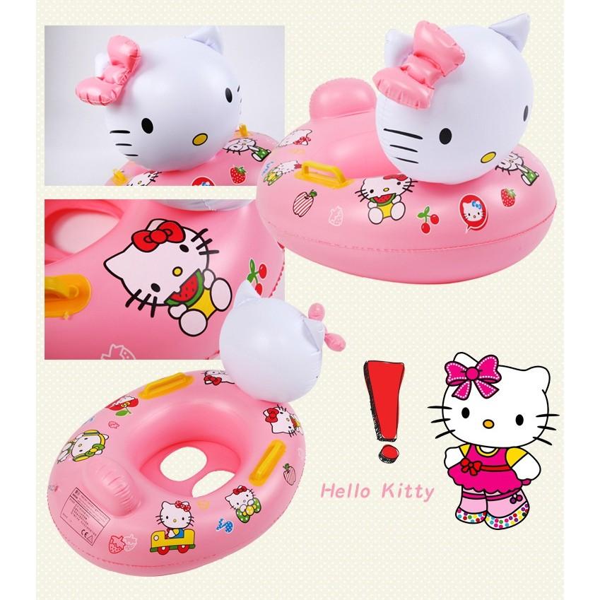 SA15 立體Hello Kitty 兒童扶手泳圈凱蒂貓寶寶把手游泳圈