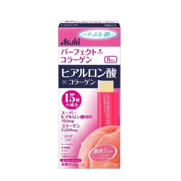 日清Asahi 膠原蛋白果凍條5 日份水蜜桃風味