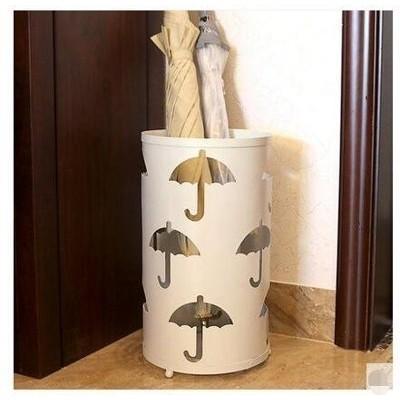 復古酒店大堂雨傘收納桶收納架鐵藝家用雨傘架 傘桶