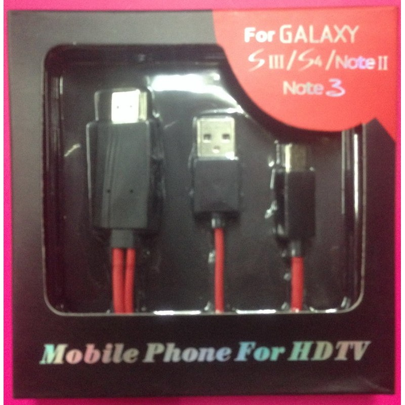 ~ ~MHL 轉HDMI 轉接線S5 S4 S3 Note 4