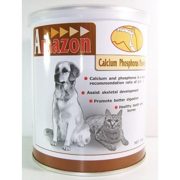 Amazon 愛美康天然鈣磷粉200G