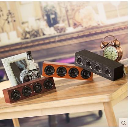卓越數碼專營店SADA v 191 筆記本臺式電腦手機小音響便攜迷妳低音炮音箱USB 木質
