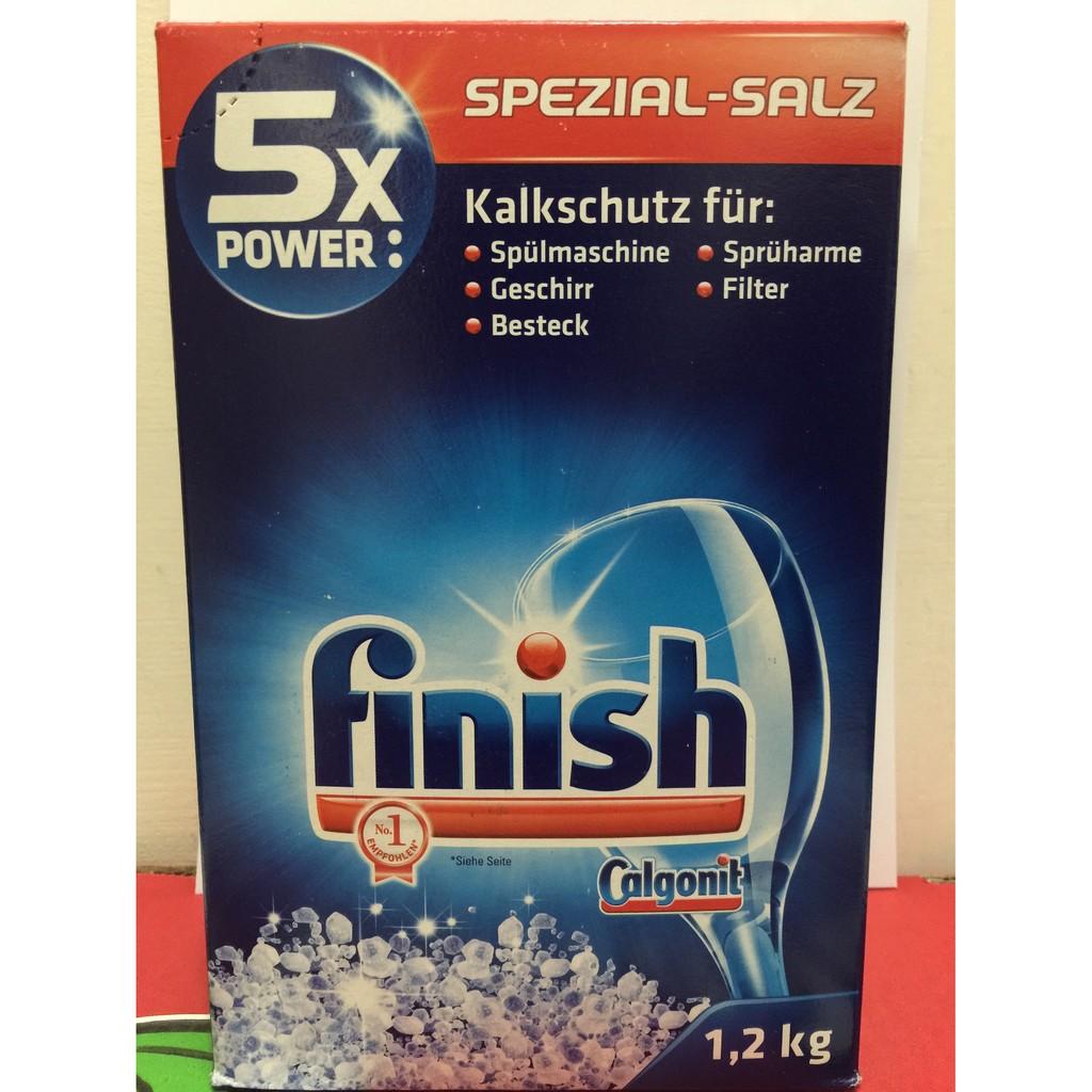德國 FINISH 洗碗機 軟化鹽1 2 公斤BOSCH Miele ASKO 非 亮碟