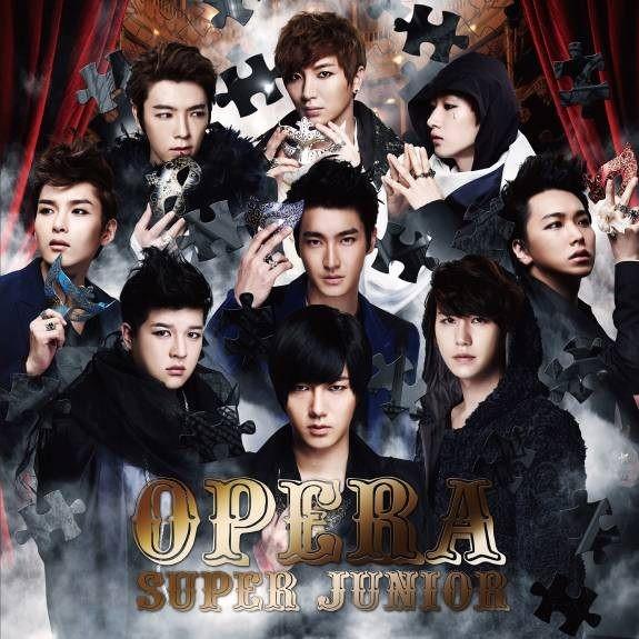 SUPER JUNIOR Opera CD Way Korean ver 啟程羈絆世界巡迴