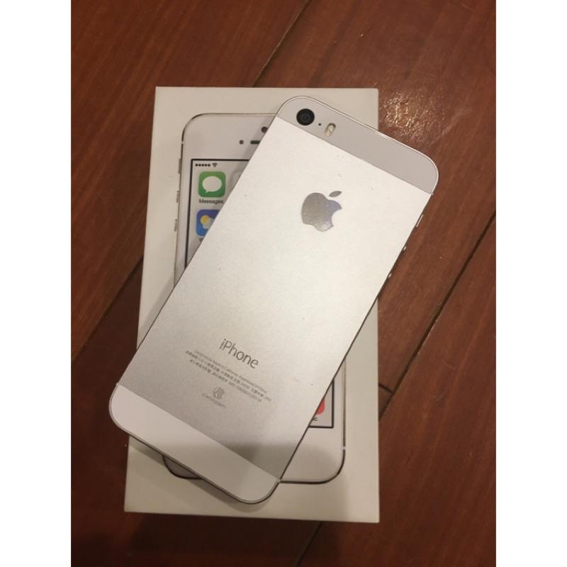 iPhone 5s 16G 銀色 中古機