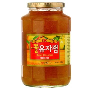 晴天咖啡☼~三紅~蜂蜜柚子醬1000g 韓國 蜂蜜柚子茶1kg