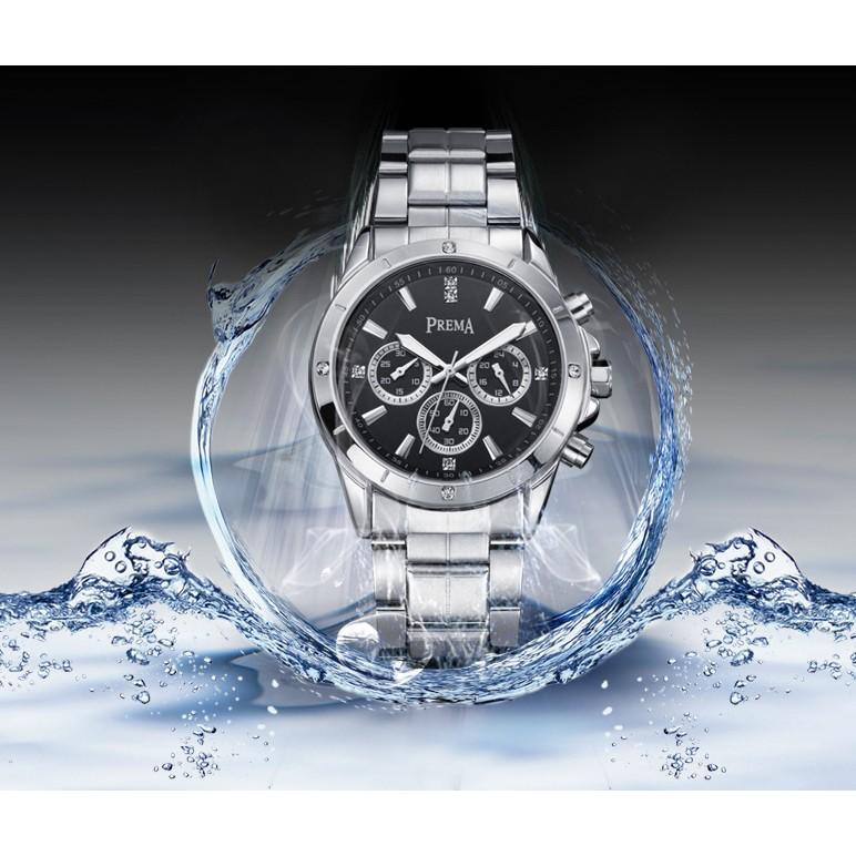 正品牌鋼帶手錶男防水 潮流韓國商務學生休閒石英男士腕表