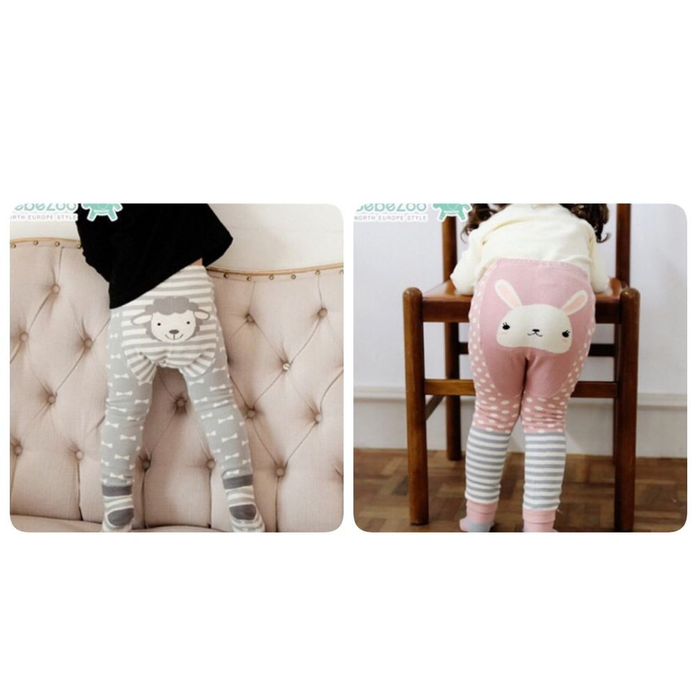 ✨ 8 折✨韓國品牌Bebezoo 小綿羊兔兔屁屁褲襪子