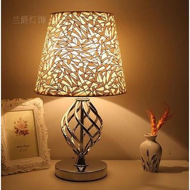 檯燈臥室床頭 簡約檯燈歐式 調光檯燈中式裝飾酒店檯燈
