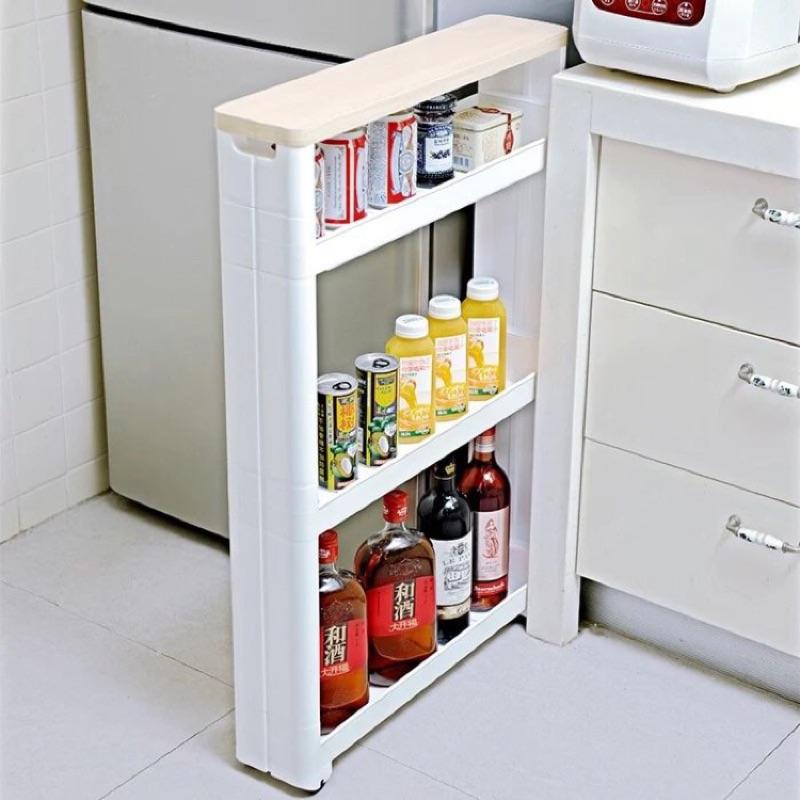 冰箱縫隙置物架瓶罐置物架 需宅配