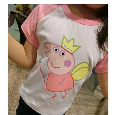 佩佩豬papapig 棉t 女童短袖