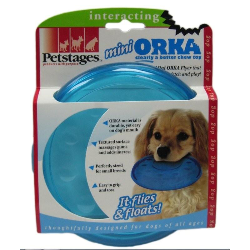美國Petstages ORKA 歐卡飛盤耐咬迷你180 大295