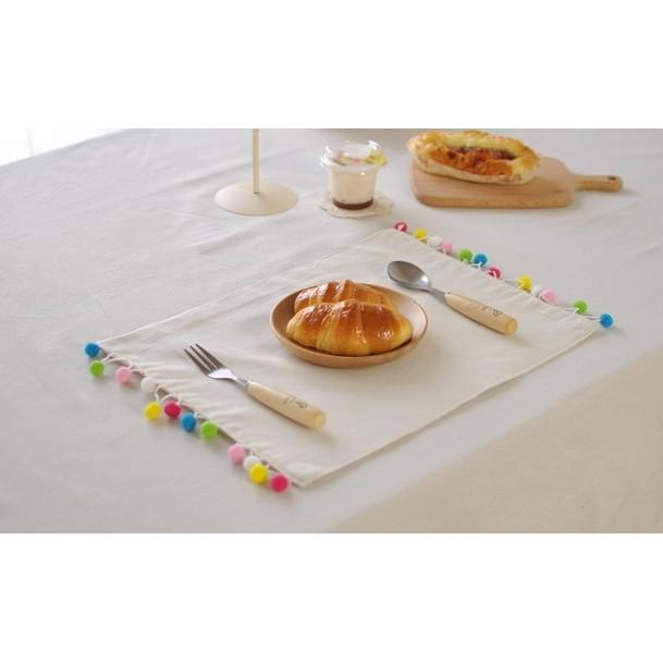 白色彩色圓球餐墊棉球桌墊桌巾桌布聖誕純白方形長方形婚禮白色野餐流蘇北歐蓋布花木馬