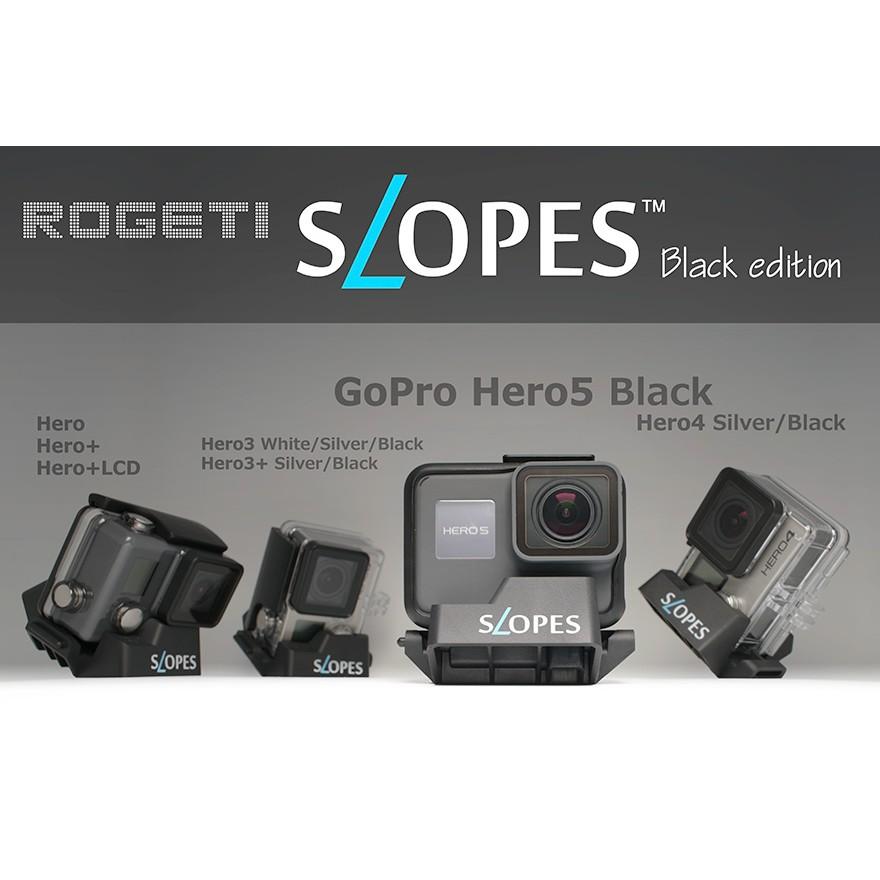 ~GoPro 彈藥庫~Hero4 Hero5 SLOPES BLACK edition 多