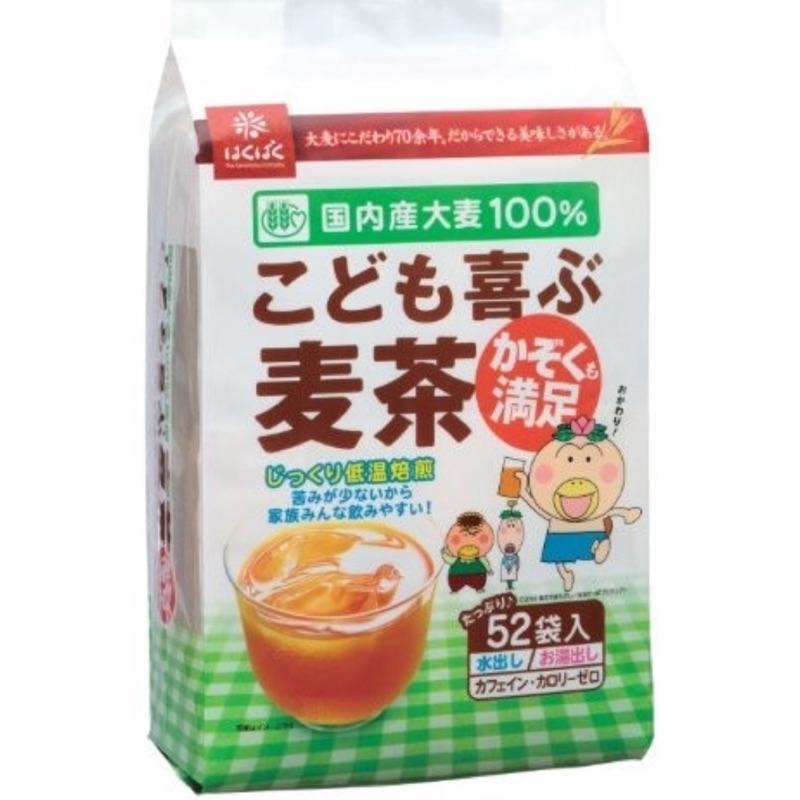 Hakubaku 孩子歡樂麥茶52 袋入416g