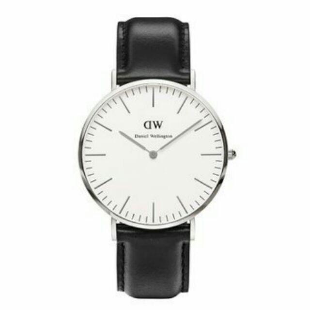 瑞典DW 手錶Daniel Wellington 0206DW 銀皮帶Classic Sh