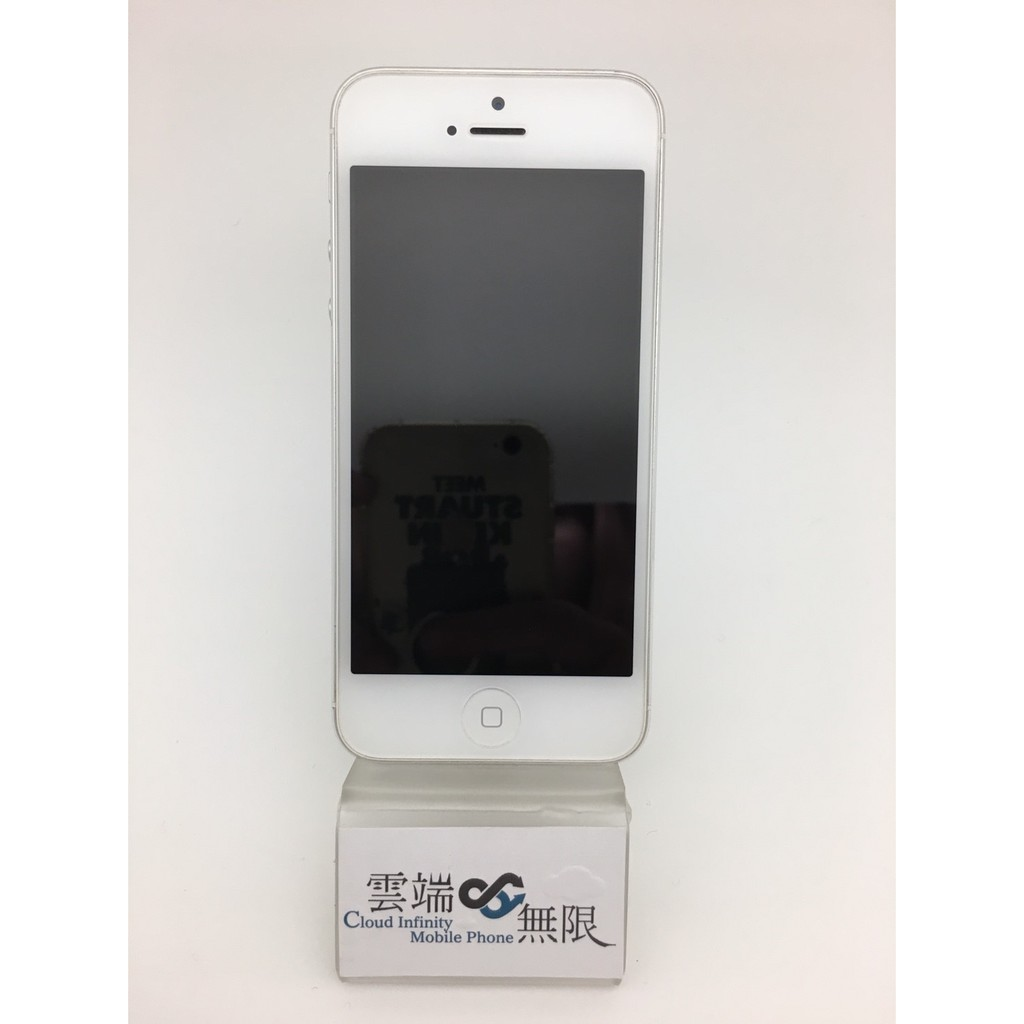 ~雲端無限~ iPhone5 32G 銀色