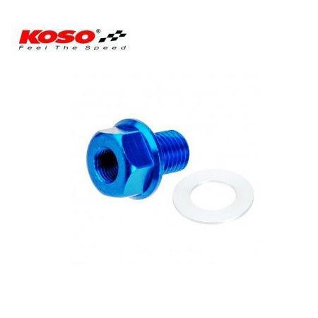 KOSO 油溫感應轉接座水溫感知器接頭M12XP1 5 機油螺絲水溫表油溫表用測油溫測水溫