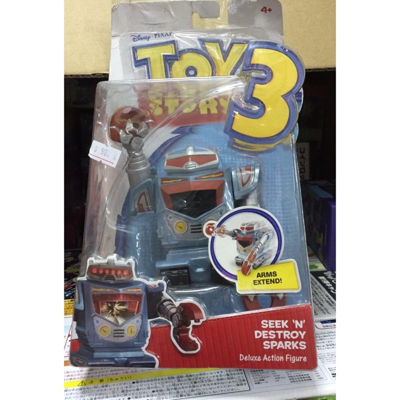 ~Eudora 絕版玩具~迪士尼玩具總動員盒裝收藏皮克斯機器人胡迪公仔