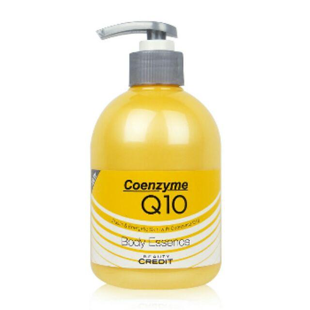 韓國Beauty Credit Q10 身體保濕乳液400ml 彈力保濕