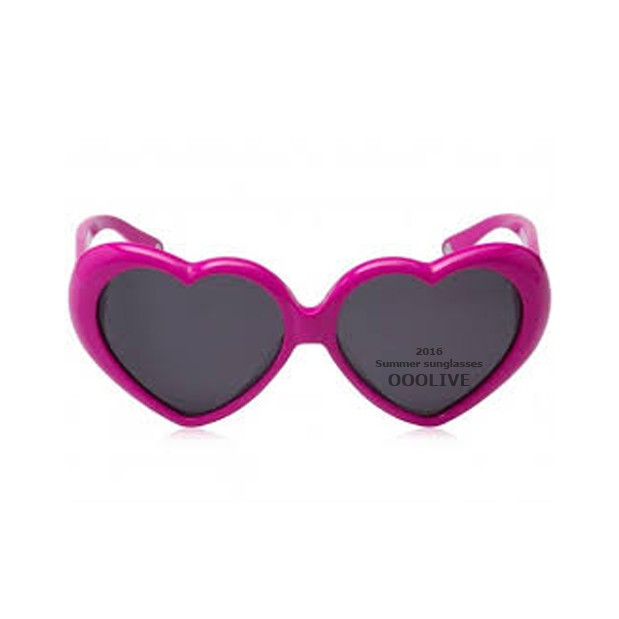 桃心墨鏡愛心心型太陽眼鏡桃樂絲款