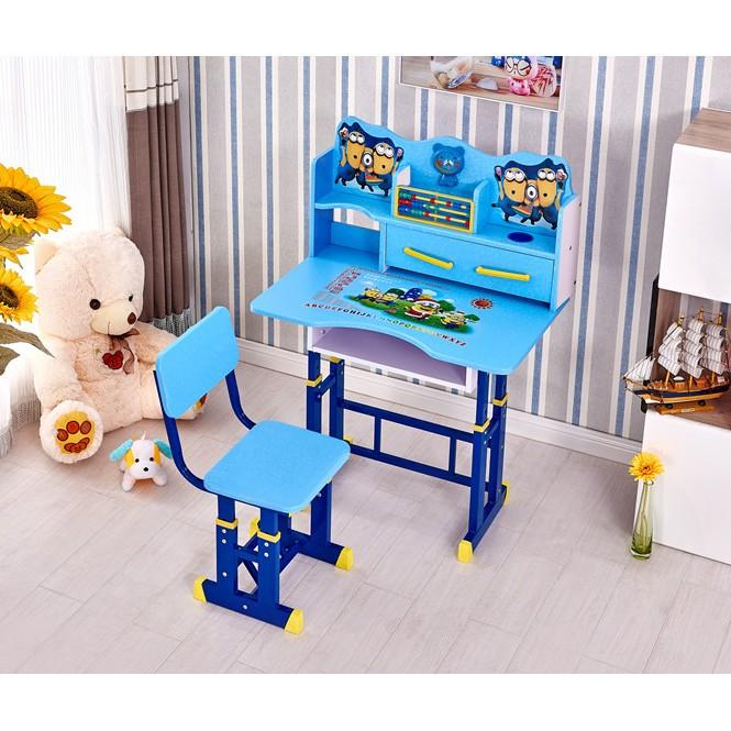 兒童學習桌椅套裝可升降兒童書桌小孩學生寫字桌臺寶寶家用課桌椅