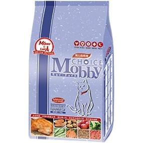 ~超取限三包~莫比Mobby 自然食貓飼料_ 挑嘴貓饕客配方1 5kg