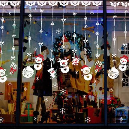 聖誕無痕壁貼Q 版小雪人