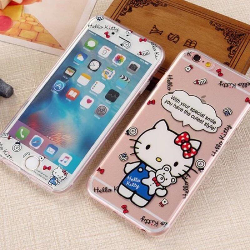 Hello kitty 前後全包TPU 軟殼}蘋果iphone6 6s 6 plus 6s