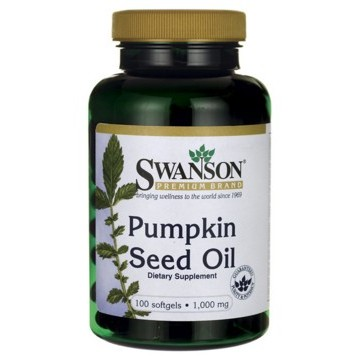 ╮阿原㊣╭Swanson 南瓜子南瓜籽油Pumpkin Seed Oil 1000mg 1