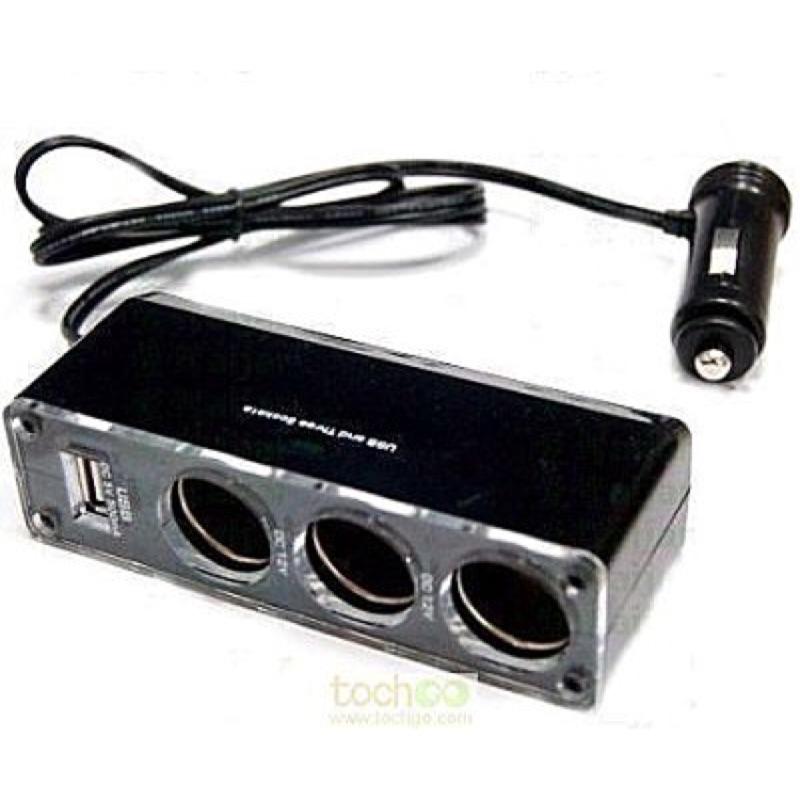 過商檢㊣紅鼻子1 對3 點菸點煙器USB 用行車記錄器行車紀錄器GV6330 GPS DO