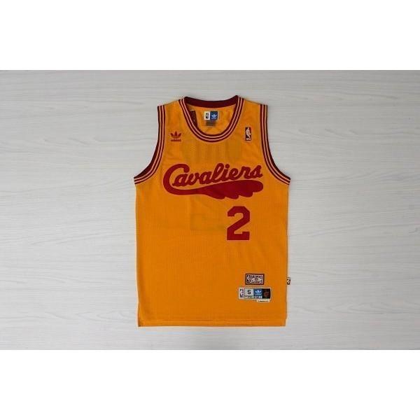 網眼電繡Cleveland Cavaliers 騎士隊2 號Kyrie Irving 歐文