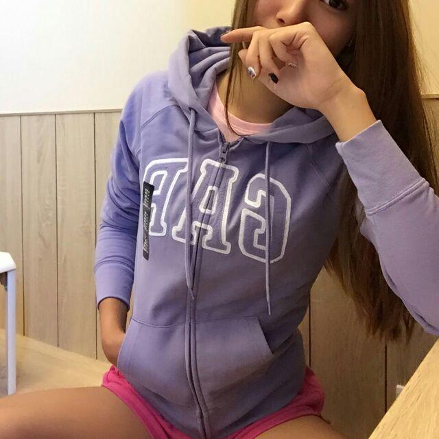 實拍淺紫柔和色Gap 外套正品 ,零碼 活動款