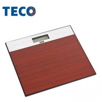 TECO 東元歐風電子體重計 木紋XYFWT382
