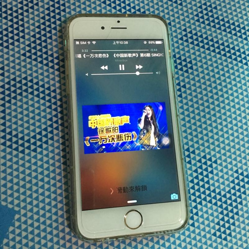 iPhone 6 16g 香檳金有包膜