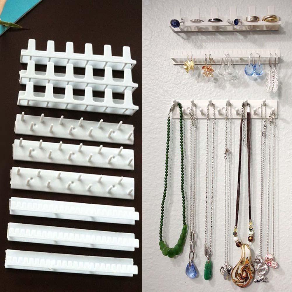 9 合1 首飾耳環項鍊收納吊鉤架